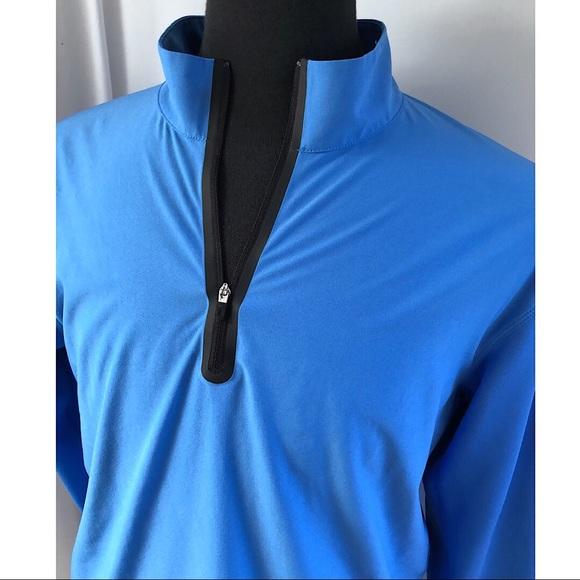 Nike Dri-Fit Tour Performance Blue Golf Jacket M